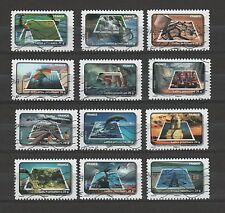 France 3782-93 Protection of water promotion (12 USED Stamps) (2010)