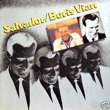 HENRI SALVADOR Salvador/Boris Vian Fr Press LP