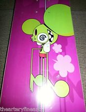 DALEK 'Green Space Monkey on Fuchsia' 2006 Skateboard Skate Deck **NEW**