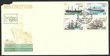 Mauritius 1980 Ship First Day Cover
