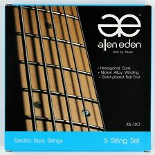 Allen Eden Electric Bass Strings 5 String 45-130