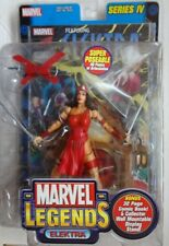 "ToyBiz Marvel Legends 2003 Elektra 6"" inch Action Figure Series 4 Daredevil"