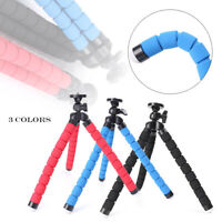 Flexible Small Octopus Mount Mini Tripod Stand Holder iPhone For Phone Camera