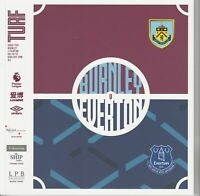 BURNLEY V EVERTON  2019/20