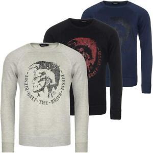 DIESEL S-Orestes-New Sweatshirt Herren Pullover Sweater Pulli