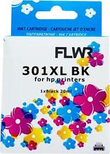 FLWR 301XL Black Compatible Cartridge for FLWR HP NON OEM