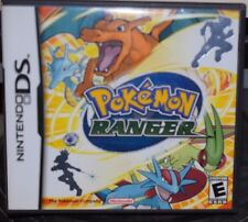 Nintendo DS toy game card Cartridge Pokemon Ranger with box case booklet