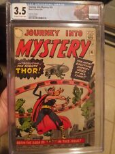 Journey Into Mystery #83 CGC 3.5 OW/W KEY (UK VARIANT) *1st Appearance of Thor!*