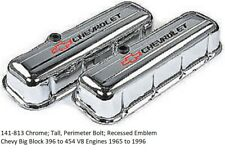 Proform 141-813 Chrome; Tall, Perimeter Bolt; Recessed Emblem Chevy Big Blocks