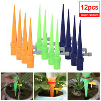 12PCS Automatic Watering Machine Plant Drip Water Bottle Spiker Irrigation Tools