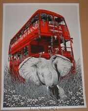 Dave Matthews Band Neal Williams London England Poster Print Signed Artist Proof