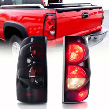 Tail Lights Pair for 1999-2006 Chevy Silverado & 99-03 GMC Sierra 1500 2500 3500