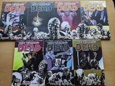 THE WALKING DEAD graphic novel Volumes 8-14 - from smoke-free home