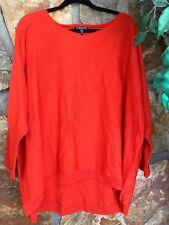 Eileen Fisher Woman L/S 100% Merino Wool Knit Top Size 2X (E1)