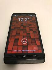 "USED Motorola DROID MAXX XT1080 5"" 4G BLACK Verizon/Unlocked GSM 16GB grade C"