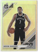 2019-20 Optic Kevin Durant Silver Holo Prizm SP No. 112 Very Nice!