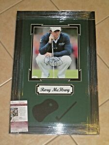 Rory McIlroy signed PGA Tour 8x10 Photo FRAMED US Open Champ JSA #G01982