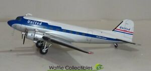 1:200 Gemini Jets United Airlines DC-3 N814CL 26078 G2UAL284 Airplane Model