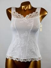 ARIANNE - TAILLE XL - Haut Caraco Dentelle 5855, Coloris : Blanc