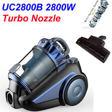 New Turbo Nozzle 2800W Bagless True Cyclonic HEPA Vacuum Cleaner Free Postage