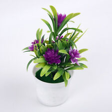 Artificial Flor de Loto Plantas en Tarro Falso Hogar Boda Fiesta Oficina Deco Au