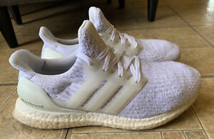 Adidas Ultra Boost 3.0 Triple White Running Shoes Women Size 7