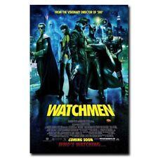 "Watchmen Heroes Full Cast 12""x8"" Movie Silk Poster Shop Room Decal Art Print Hot"