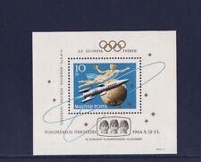 Hongrie  bloc  jeux olympiques  Voskhod espace 1964   num: BF 50   **