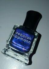 NEW! Deborah Lippmann THE FIRST NOEL Polish Lacquer Hyper purple chrome shimmer