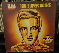 7LP BOX ELVIS PRESLEY / ELVIS  100 SUPER ROCKS German
