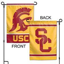 "USC Trojans 12"" x 18"" Premium Decorative Garden Flag"