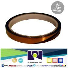 Cinta Adhesiva Termica Para Sublimación , 6mm X 33 Mts