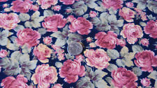 By The YARD Quilting Sewing Fabric Flannel Vintage Garden Floral Marcus Brothers