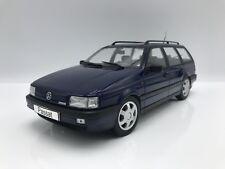 VW Volkswagen Passat B3 VR6 Variant 1988 - metallic-dunkelblau - 1:18 KK-Scale