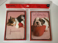 6 Hallmark Happy Valentines Day Greeting Cards 3 Of Each