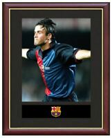 Luis Enrique Mounted Framed & Glazed Memorabilia Gift Football Soccer