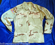 Desert Camouflage coat combat storm MEDIUM regular uniform seargent army patch