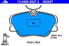 Bremsbelagsatz Scheibenbremse - ATE 13.0460-2927.2