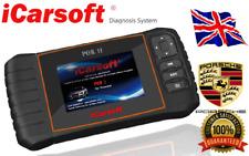 iCarsoft POR II For PORSCHE OBD2 OBD II Diagnostic Scanner Tool SRS Code Reset