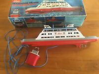 Schuco 763 380 Bodensee Fähre Fontainebleau Toy Model Boat Lake Constance Ferry