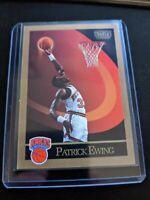 Patrick Ewing 1990 Skybox #187 Basketball Card - New York Knicks Pack Fresh MINT