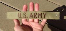 LOT OF 5 US ARMY DESERT STORM UNIFORM TAPE Chocolate Chip