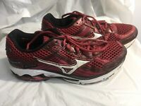 Mizuno Womens Wave Rider 15 Limited Edition Maroon Running Shoes Size 8W. 1G