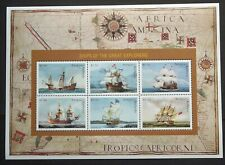 1996 Antigua and Barbuda, Ships of the Great Explorers Sheetlet MNH - SGMS2301