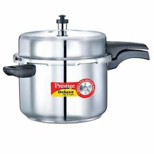 Prestige  Pressure Cookers  Outer Lid  Senior  Stainless Steel 8 Ltr Deluxe