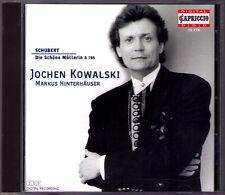 Jochen KOWALSKI: SCHUBERT Die Schöne Müllerin D.795 Op.25 Markus HINTERHÄUSER CD