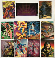Marvel Masterpieces Marvel Cards 1995 Comics Vintage
