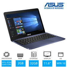 "Asus Vivobook E200HA 11.6 "" Windows 10 Ordinateur Portable Intel Atom X5"