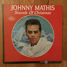 Johnny Mathis - Sounds of Christmas LP Mercury MG 20837 Mono 1st Pressing VG+
