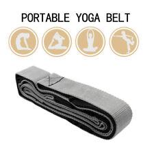 Fitness Yoga Stretch Strap Band Waist Leg Cotton Yoga Belt For Leg Body Exercise